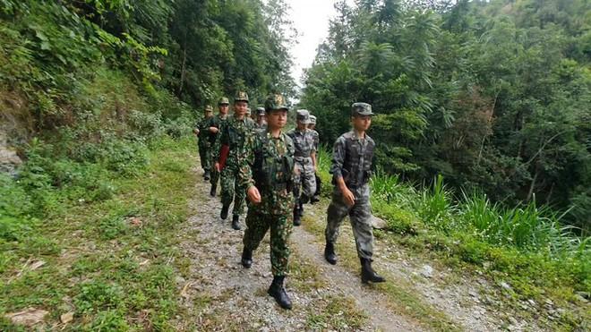 Biên phòng Việt Nam – Trung Quốc tuần tra song phương - Ảnh 1.