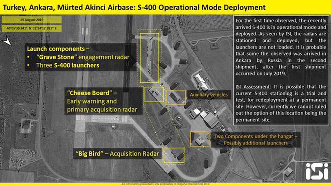 Hé lộ vị trí triển khai, tình trạng chiến đấu của S-400 Nga đầu tiên tại Thổ Nhĩ Kỳ - Ảnh 2.