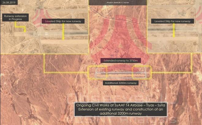 Syria nâng cấp sân bay T4, mở rộng cửa đón chiến đấu cơ Iran: Kịch hay ở phía trước?