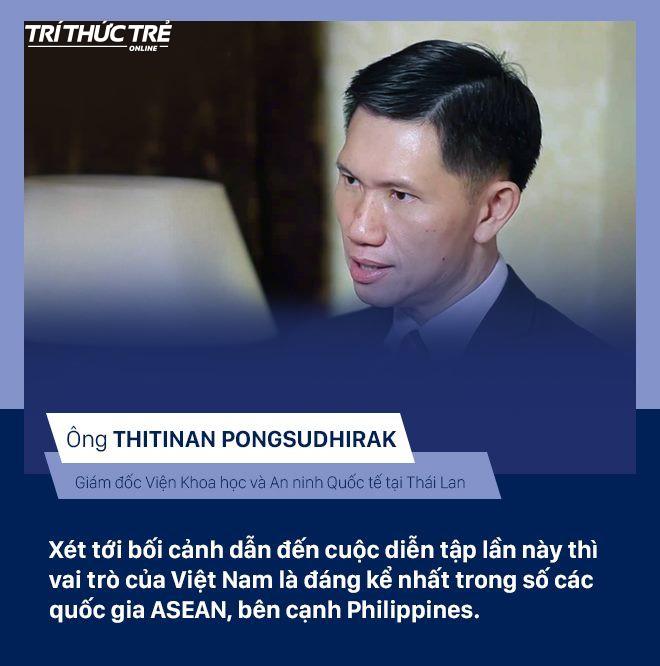 Chuyên gia quốc tế: Mỹ đã công nhận khả năng lãnh đạo và sự chuyên nghiệp của Việt Nam trong diễn tập hải quân - Ảnh 3.