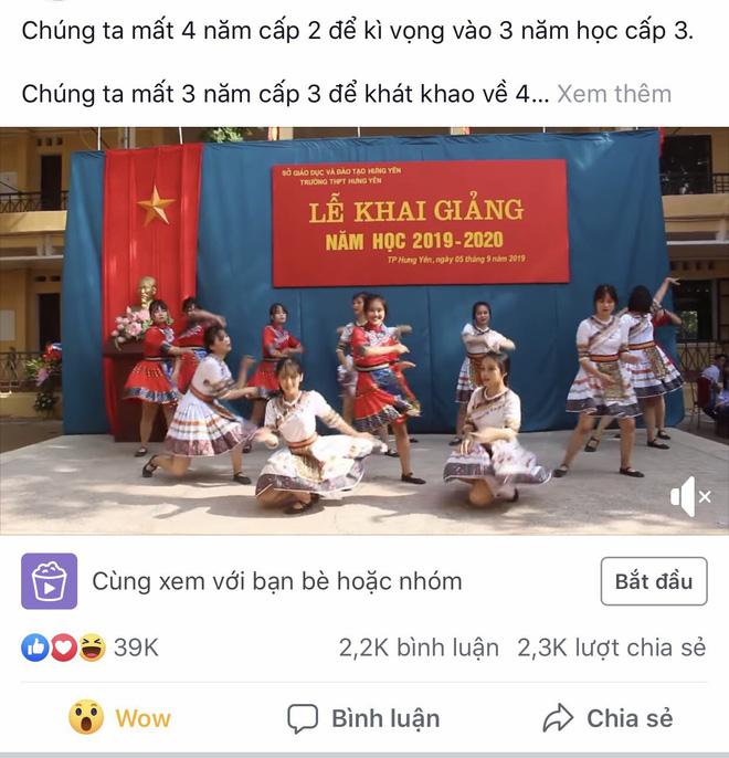 Danh tính nữ sinh Hưng Yên có màn trình diễn gây bão like trong ngày khai giảng  - Ảnh 3.