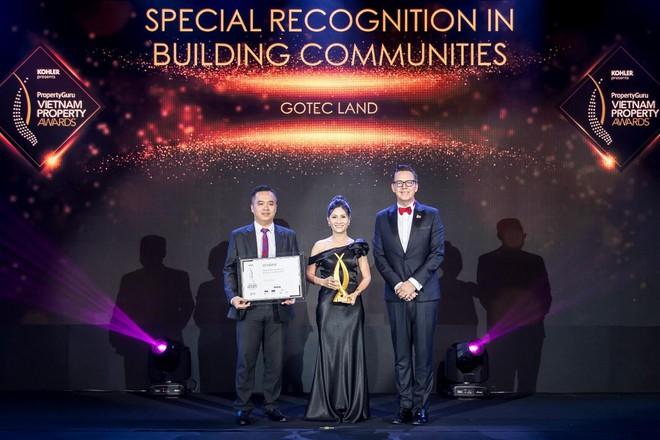 Dấu ấn vì cộng đồng của Gotec Land được ghi nhận bởi giải thưởng quốc tế  - Ảnh 1.