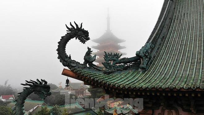Ngôi chùa có kiến trúc kiểu Nhật Bản độc đáo ở Tây Nguyên - Ảnh 3.