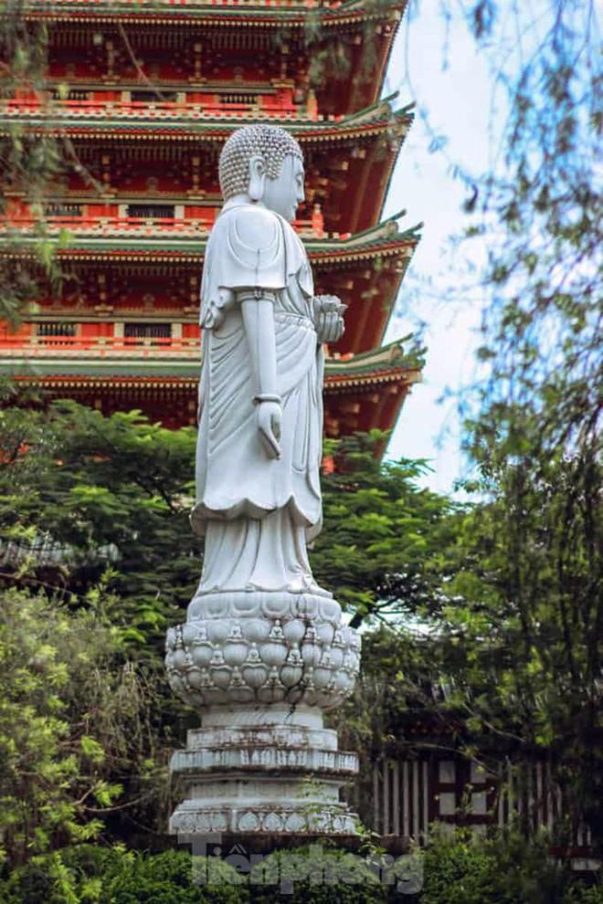 Ngôi chùa có kiến trúc kiểu Nhật Bản độc đáo ở Tây Nguyên - Ảnh 5.