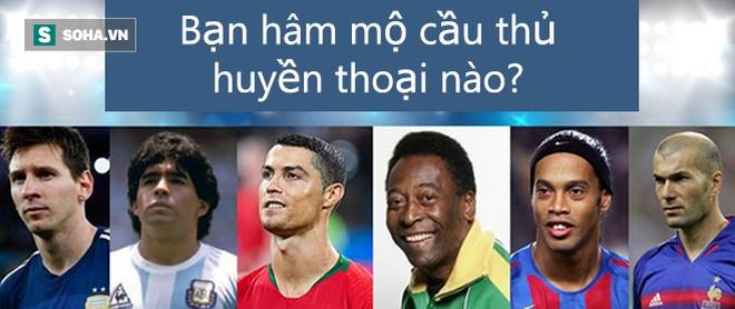 Hãy chọn danh thủ bóng đá bạn hâm mộ nhất rồi xem luận giải vui về tính cách của bạn - Ảnh 1.