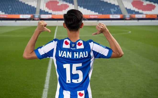 Heerenveen bác thông tin về lương Văn Hậu và điều khoản được ra sân 20% số trận