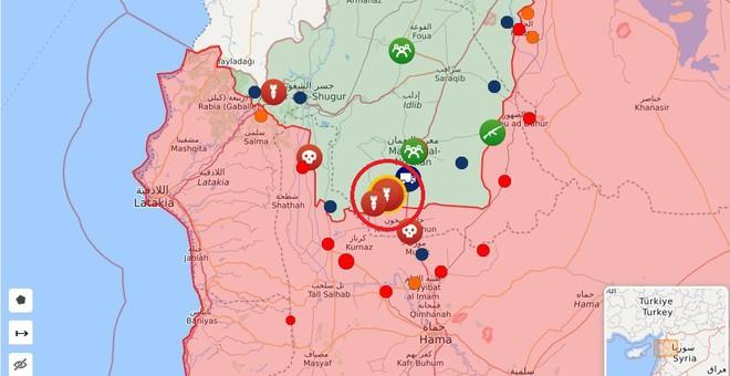 Hàng trăm tay súng Nga bất ngờ ồ ạt tới Idlib- Phòng không Syria khai hỏa tới tấp, bắn hạ nhiều mục tiêu bay - Ảnh 12.
