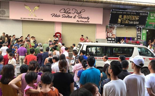 Công an Hà Nội: Vụ nổ lớn khiến 3 người bị thương ở chung cư Linh Đàm do mâu thuẫn cá nhân
