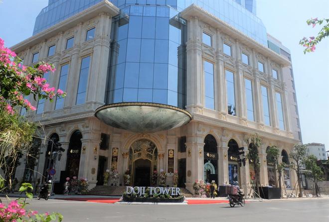 Ngắm tòa nhà hình viên kim cương khổng lồ siêu độc ở Hà Nội - Ảnh 3.