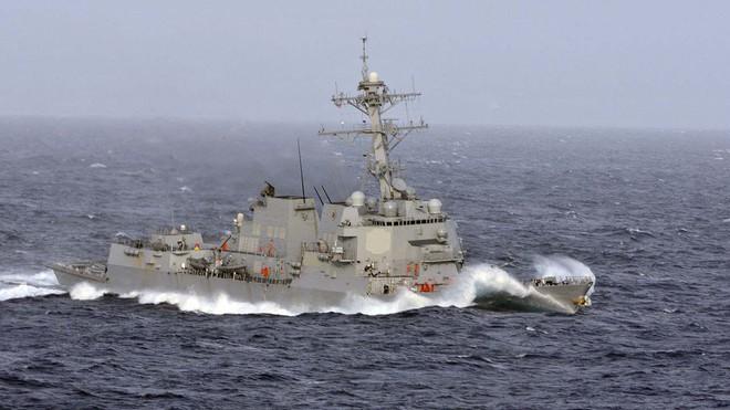 Chiến hạm Mỹ mang tên lửa Tomahawk diễn tập cùng ASEAN trên biển Đông - Ảnh 11.