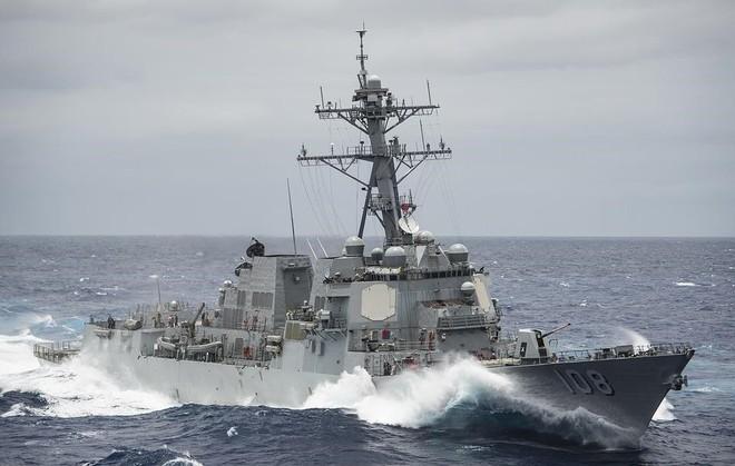 Chiến hạm Mỹ mang tên lửa Tomahawk diễn tập cùng ASEAN trên biển Đông - Ảnh 13.