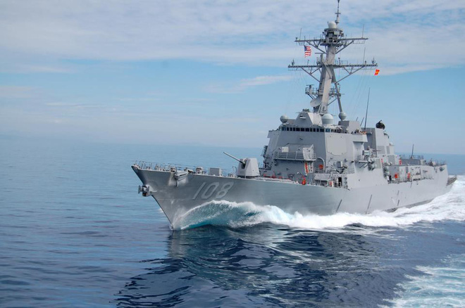 Chiến hạm Mỹ mang tên lửa Tomahawk diễn tập cùng ASEAN trên biển Đông - Ảnh 16.
