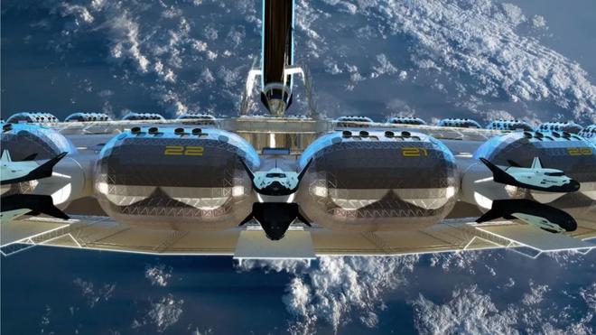 Đây là hình ảnh bên trong của khách sạn không gian đầu tiên trên thế giới, dự kiến đưa vào quỹ đạo năm 2025 - Ảnh 4.