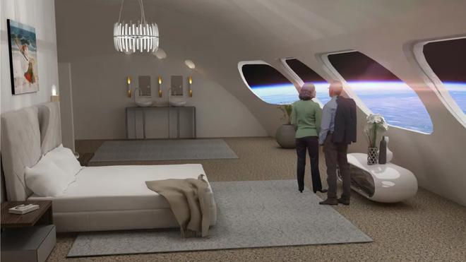 Đây là hình ảnh bên trong của khách sạn không gian đầu tiên trên thế giới, dự kiến đưa vào quỹ đạo năm 2025 - Ảnh 5.