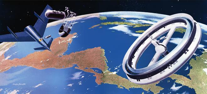 Đây là hình ảnh bên trong của khách sạn không gian đầu tiên trên thế giới, dự kiến đưa vào quỹ đạo năm 2025 - Ảnh 1.