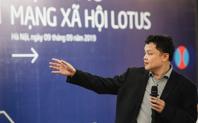 """MXH Lotus """"made in Vietnam"""": """"Mỗi người dùng là một nghệ nhân, ai cũng có thể trở thành chuyên gia"""""""