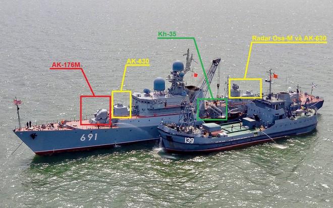 Thấy vũ khí trên tàu Gepard Nga, ngỡ ngàng về sức mạnh Tàu 016 Quang Trung của HQVN - Ảnh 2.