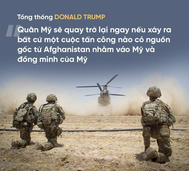 Sau vụ thảm sát, Tổng thống Trump hủy đối thoại vào phút chót: Hy vọng về hiệp định Mỹ-Taliban vụt tắt - Ảnh 2.