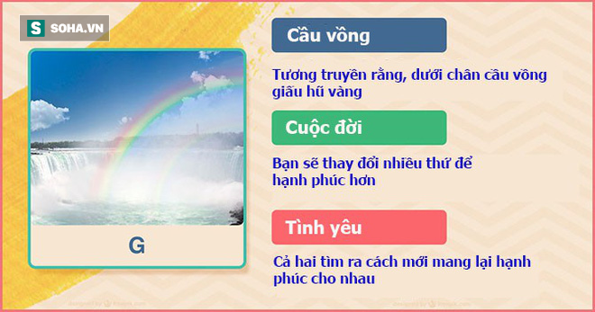 Hãy chọn biểu tượng bạn cho là may mắn, đáp án sẽ tiết lộ đường tình duyên của bạn - Ảnh 8.