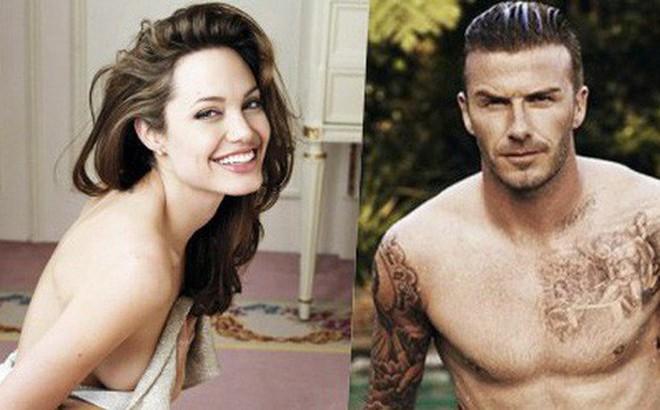 """Tạp chí Mỹ gây sốc với tin Angelina Jolie """"giật"""" David Beckham từ tay Victoria: Chuyện gì đang xảy ra?"""
