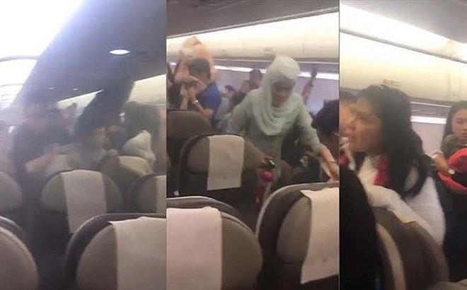 Sạc dự phòng phát nổ trên máy bay, hành khách chạy toán loạn