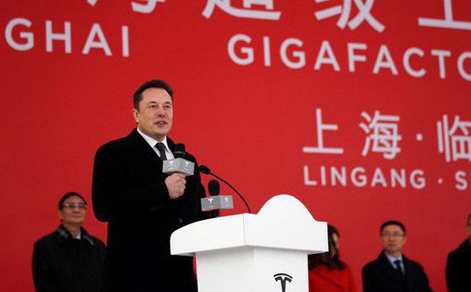 Tránh chiến tranh thương mại của Trump, Elon Musk cho xây dựng Tesla Gigafactory tại Trung Quốc