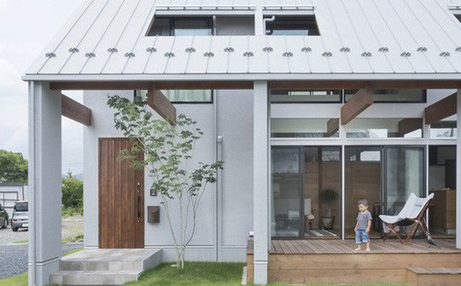Ngôi nhà cấp 4 ở Nhật có mái hiên rộng để che nắng mưa, cảm nhận vị ấm của hạnh phúc gia đình