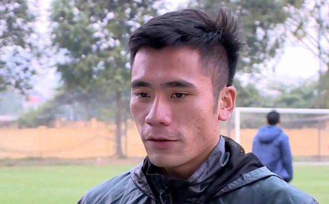 """Tiền vệ Bùi Tiến Dụng: """"Sau khi xem tuyển Nhật Bản, em chỉ biết động viên anh Dũng và đội tuyển Việt Nam"""""""