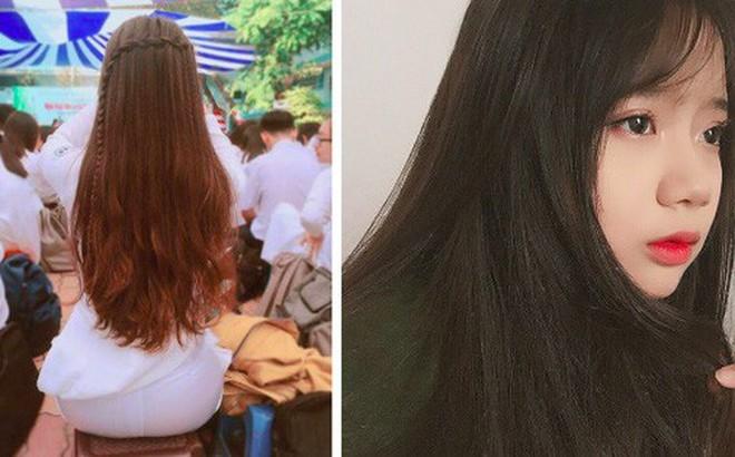 Nữ sinh Việt khiến dân mạng và truyền thông Trung Quốc phát cuồng vì bức ảnh mặc áo dài với mái tóc mây siêu đẹp