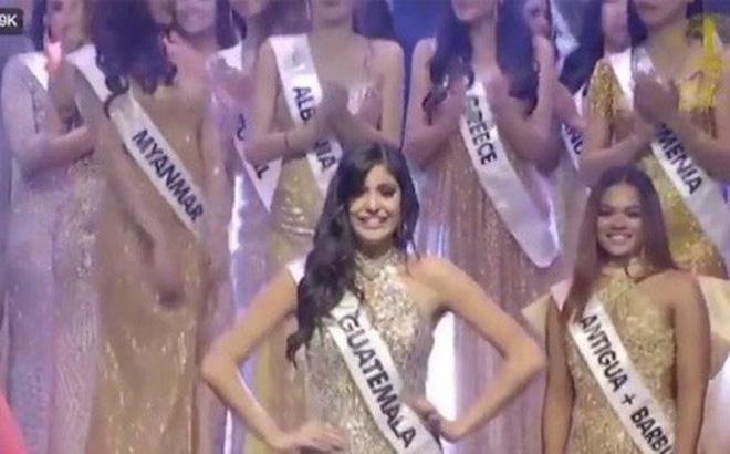 """Sự cố hy hữu tại Hoa hậu Liên lục địa 2018: Thí sinh bị """"quê"""" khi lên nhận giải của người khác vì nghe nhầm"""