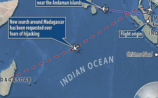 Xuất hiện manh mối mới nhất tìm kiếm MH370