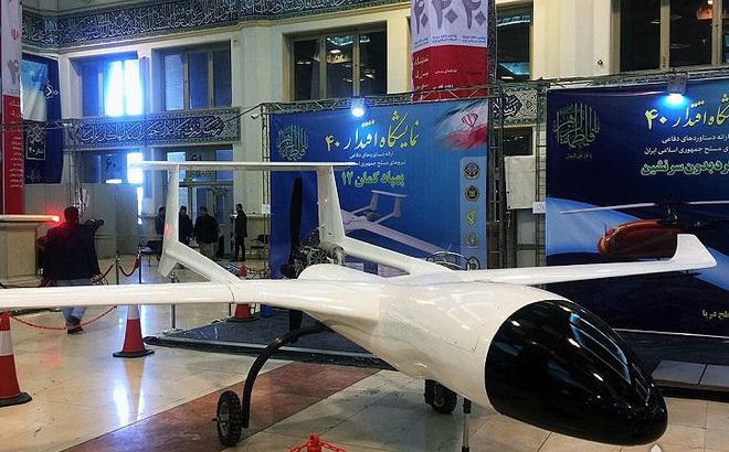 Iran giới thiệu các UAV bản sao chép từ các máy bay chiến lợi phẩm của Mỹ
