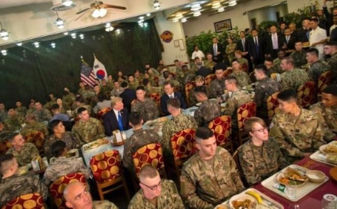 Quân Mỹ tại Hàn Quốc – lợi thế mặc cả của ông Trump