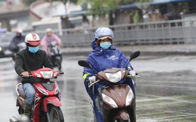 Thời tiết ngày 22/2: Không khí lạnh tăng cường, Hà Nội chuyển rét và mưa