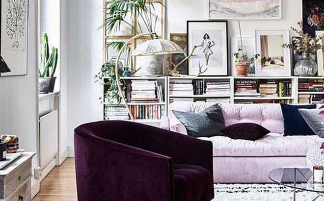 Căn hộ nhỏ chỉ vỏn vẹn 25m² nhưng đẹp mơ màng với gam màu pastel khiến ai nhìn cũng yêu