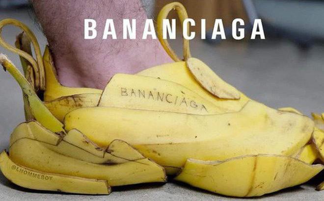 Hot nhất trên mạng hôm nay là đôi giày Balenciaga làm từ vỏ chuối: Có tiền cũng không mua được đâu!
