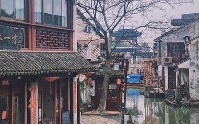 """Ngẩn ngơ trước vẻ đẹp thị trấn cổ Châu Trang, nơi được mệnh danh là """"Venice Phương Đông"""""""