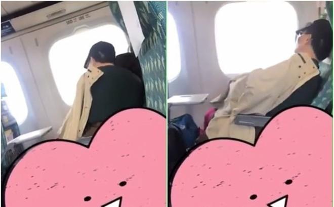Đoạn clip 56 giây không có tiếng nói chỉ có tiếng động của đôi tình nhân trên tàu hỏa khiến cư dân mạng nổi giận đòi trừng phạt