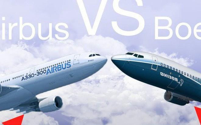 Airbus vs. Boeing: Toàn cảnh so găng kiểm soát vùng trời của hai ông lớn độc quyền ngành sản xuất máy bay thế giới