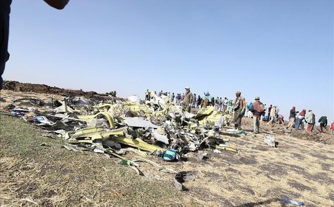 Vụ tai nạn máy bay Ethiopia: Máy bay phát ra tiếng động lạ trước khi rơi xuống