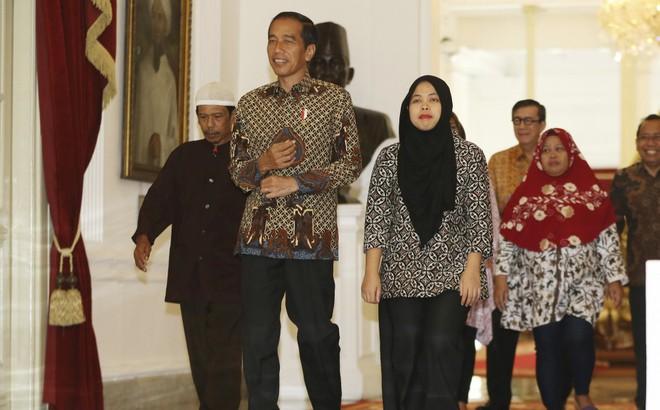 Tổng thống Indonesia đón công dân được thả trong nghi án Kim Jong-nam trở về