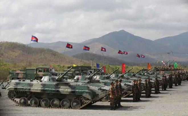 Trung Quốc, Campuchia tổ chức tập trận quân sự quy mô lớn chưa từng có