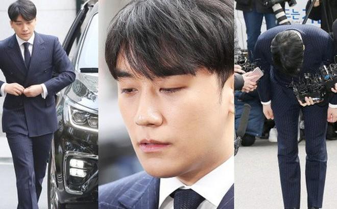 Clip Seungri chính thức trình diện để thẩm vấn: Vẫn đi xe sang nhưng tiều tuỵ hẳn, mắt đỏ rưng rưng xin lỗi nạn nhân