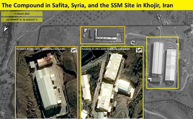 Cơ sở sản xuất tên lửa Iran phía tây Syria xuất hiện trên hình ảnh vệ tinh