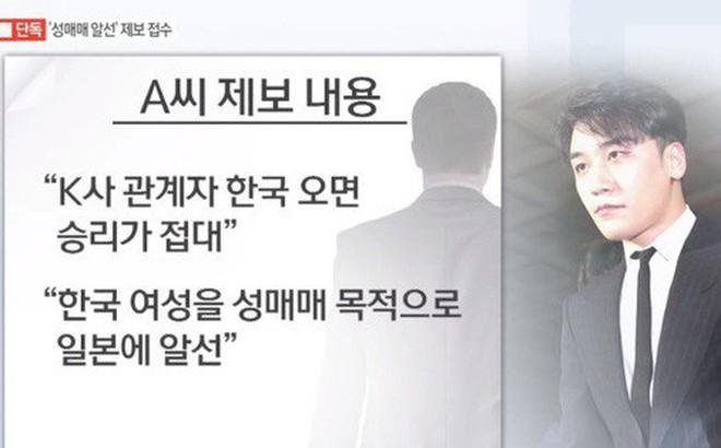 Bóc mẽ thủ đoạn môi giới mại dâm xuyên quốc gia của Seungri: Lộ tin nhắn giao dịch đưa gái mại dâm từ Hàn sang Nhật