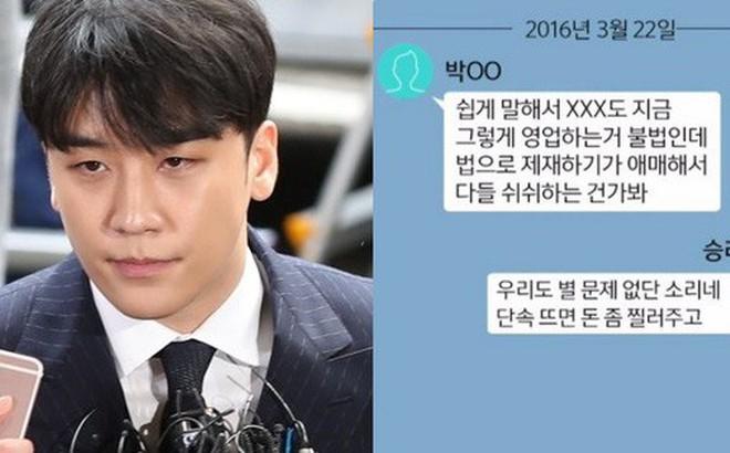 """Lộ tin nhắn bóc mẽ thói quen thao túng luật pháp và xem thường cơ quan chức năng của Seungri: """"Đưa ít tiền là được"""""""