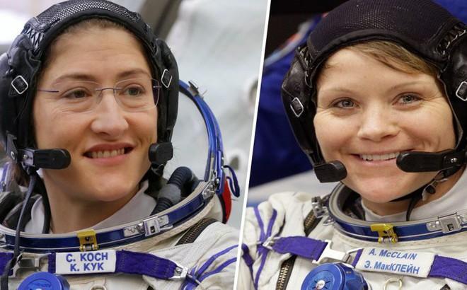 NASA hủy chuyến đi bộ ngoài không gian lịch sử của nhóm phi hành gia toàn nữ với lý do 'trên trời'