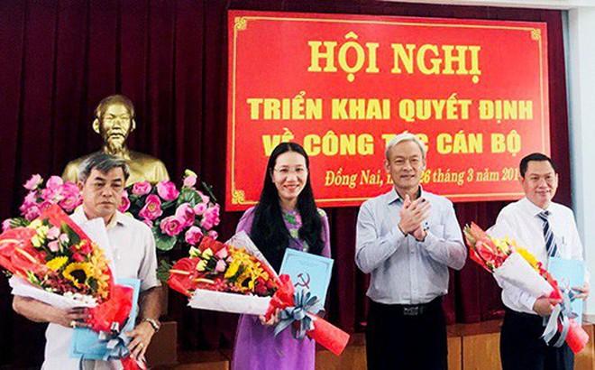 Nhân sự mới Đồng Nai, Quảng Bình, TPHCM, Sóc Trăng