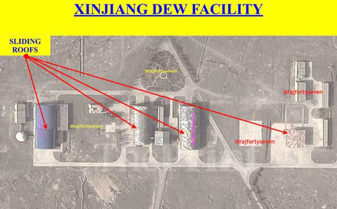 Phát hiện căn cứ laser bắn vệ tinh của Trung Quốc