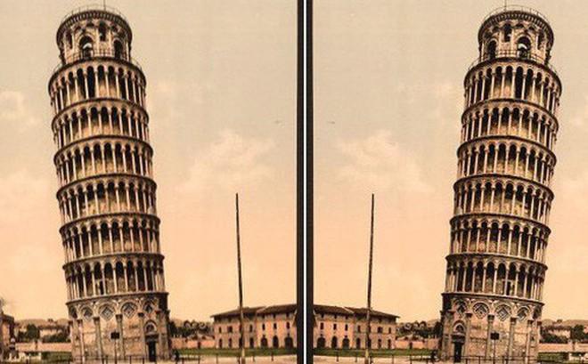 Tranh cãi Confetti: Rốt cục tháp Pisa thực sự nghiêng về hướng nào?